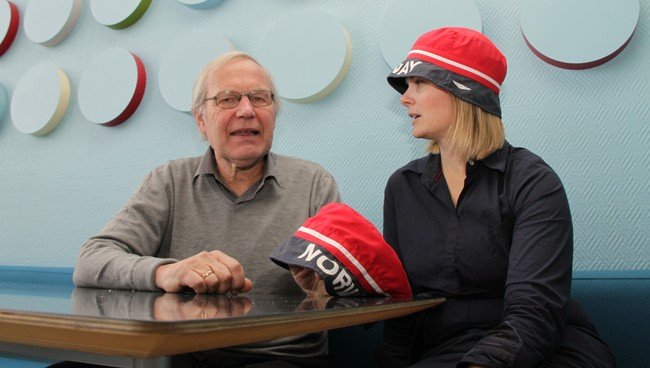 Arne Scheie og Ingrid Gjessing Linhave  (Foto: Einar Yohsuke Kosaka/NRK)