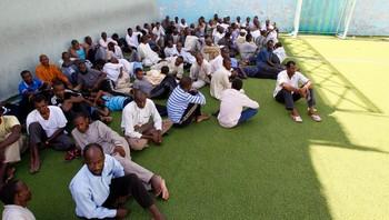 Afrikanske fanger i Tripoli