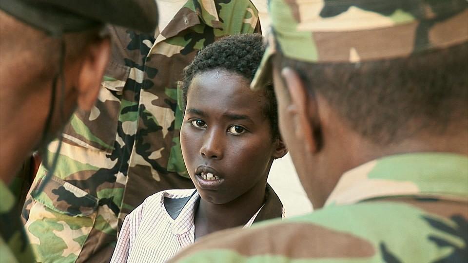 Soldatane i Mogadishu