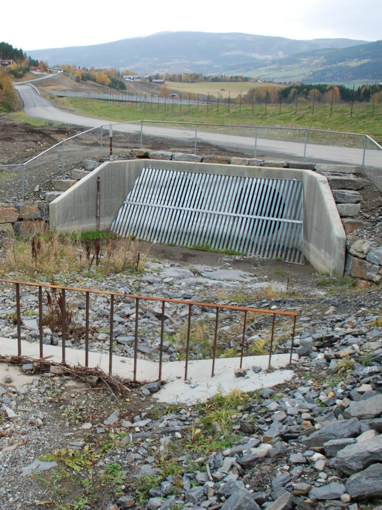Kulvert ved E6 i Sør-Fron
