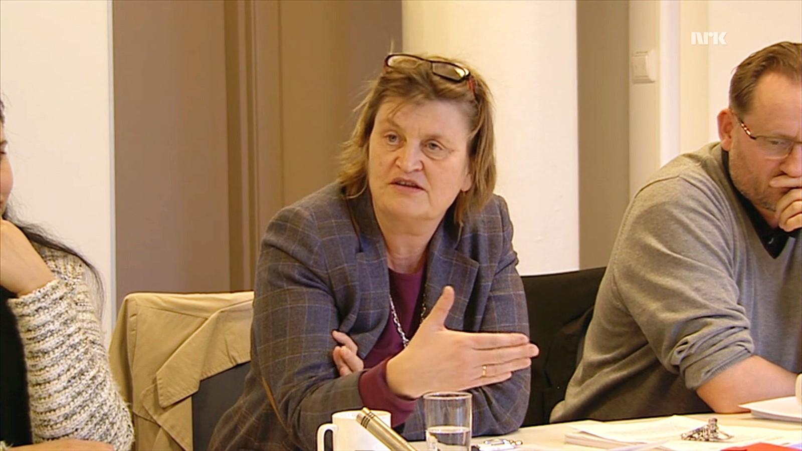 Mange av henvendelsene til rådet samles som et tema rådet diskuterer i plenum. Her har Elin Ørjasæter ordet i 2015.