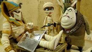 Mumiene herjer fritt