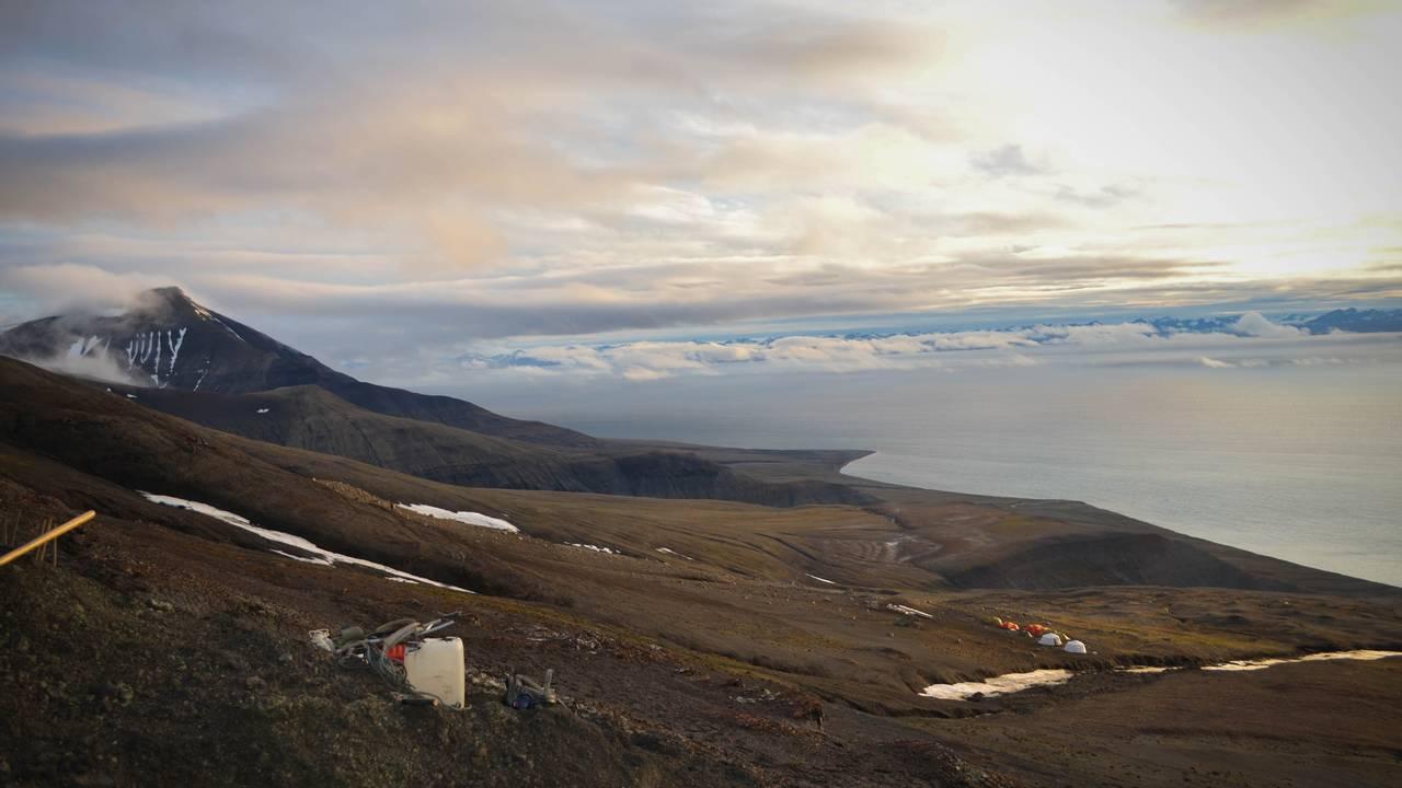 Wimanfjellet, Svalbard