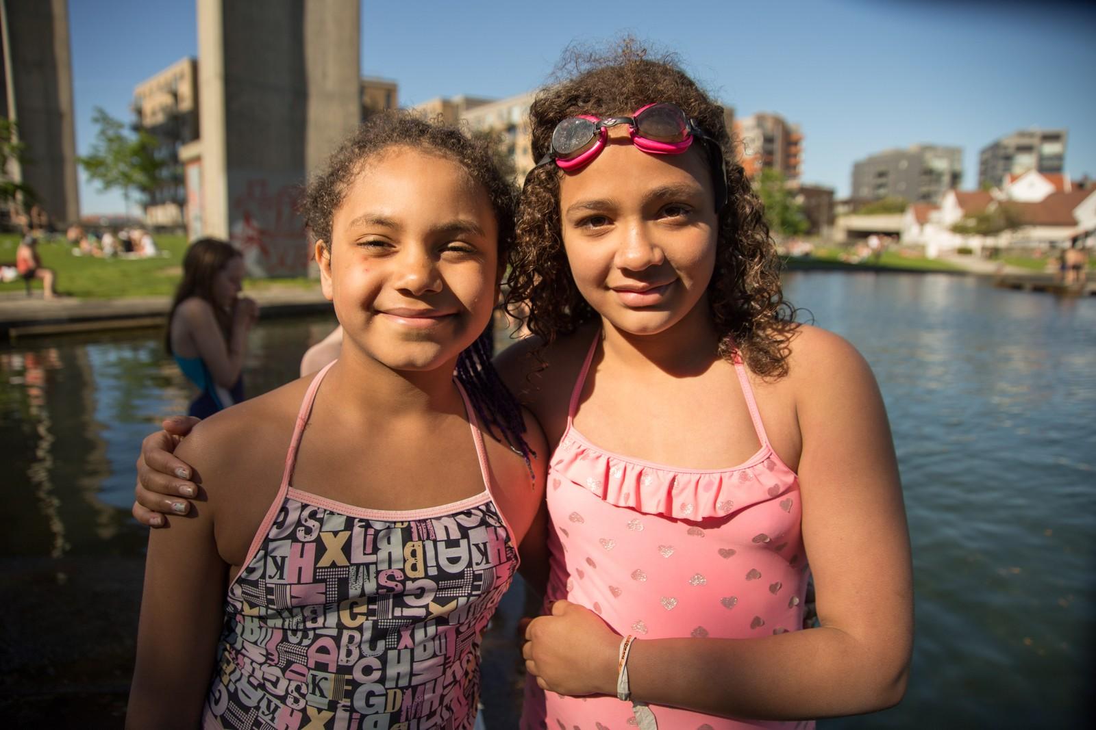 Aicha og Maya (9).