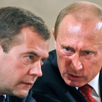 Putin og Medvedev