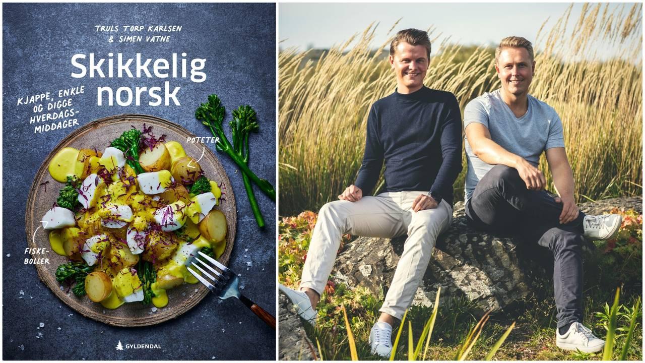 Truls Torp Karlsen og Simen K. Vatne har gitt ut kokeboka