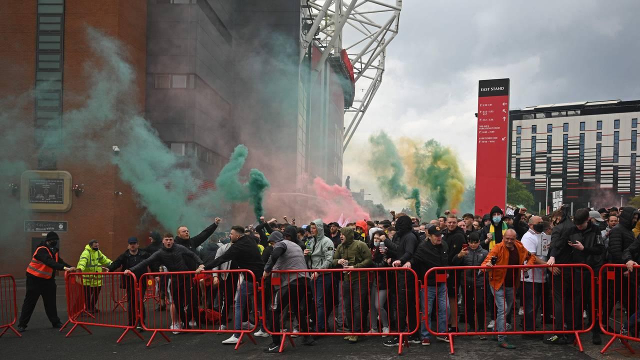 Protester i Manchester, 10