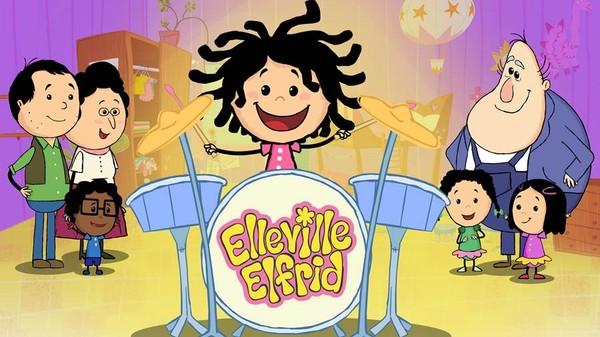 Norsk animasjonsserie. Lille Elfrid er fem år og en gledesspreder. Når hun endelig får lov til å utforske verden på egenhånd blir vi med på en oppdagelsesferd som er både skummel og fantastisk.