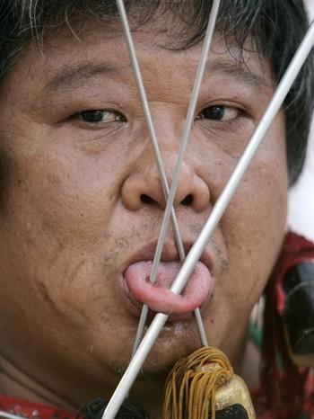 Tradisjonell kinesisk tungepynt