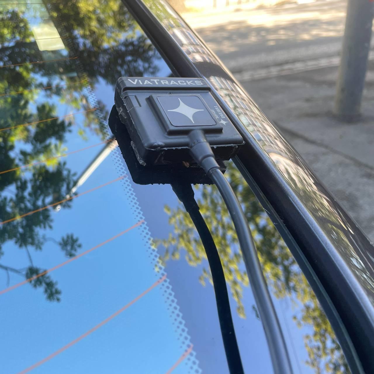 Atferdsregistrator montert på bil