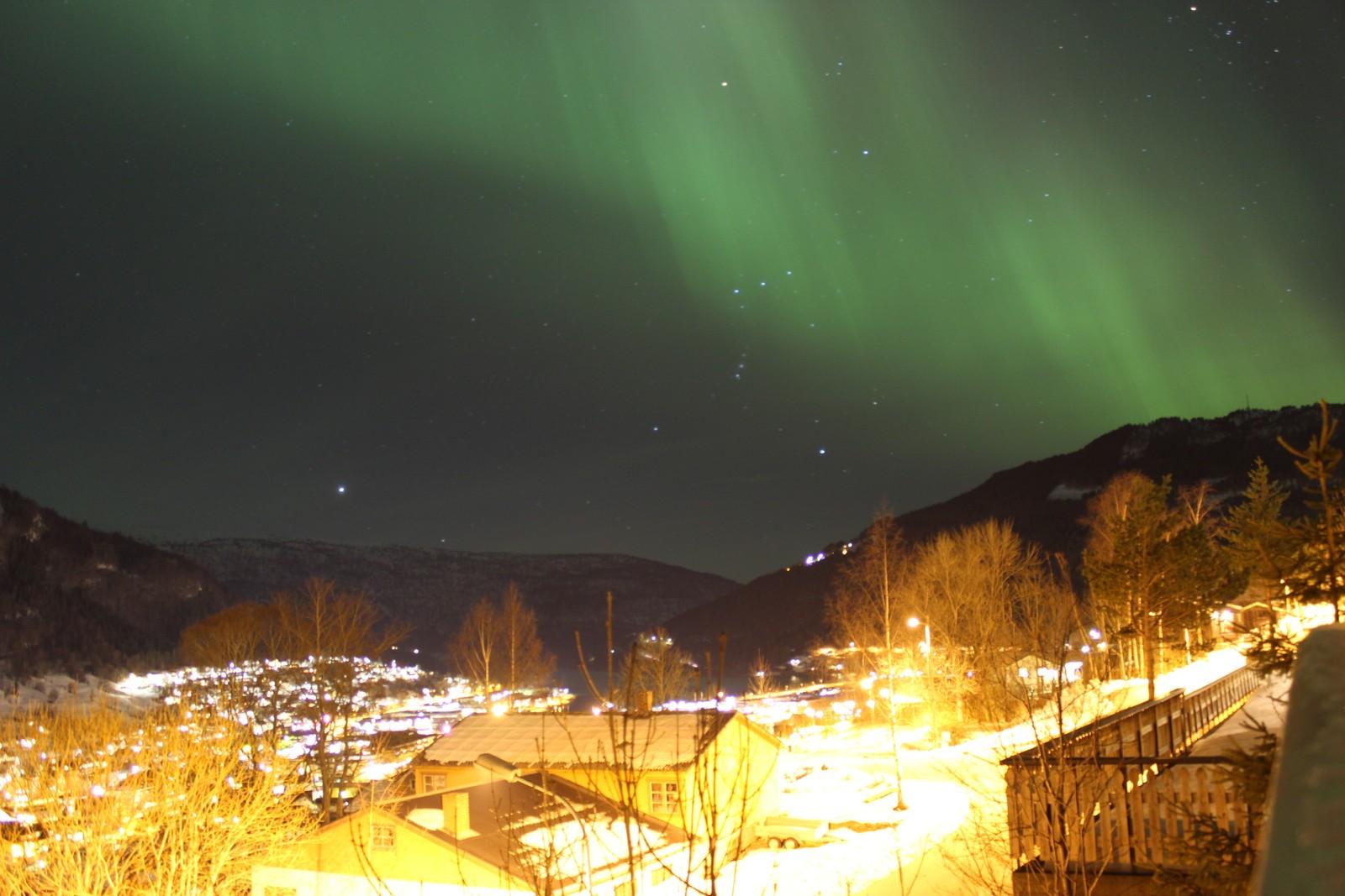 STRYN: Nordlys i Stryn
