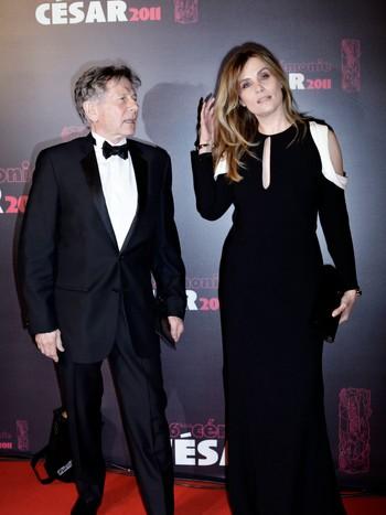 France Cinema Cesar Awards Roman Polanski, Emmanuelle Seigner