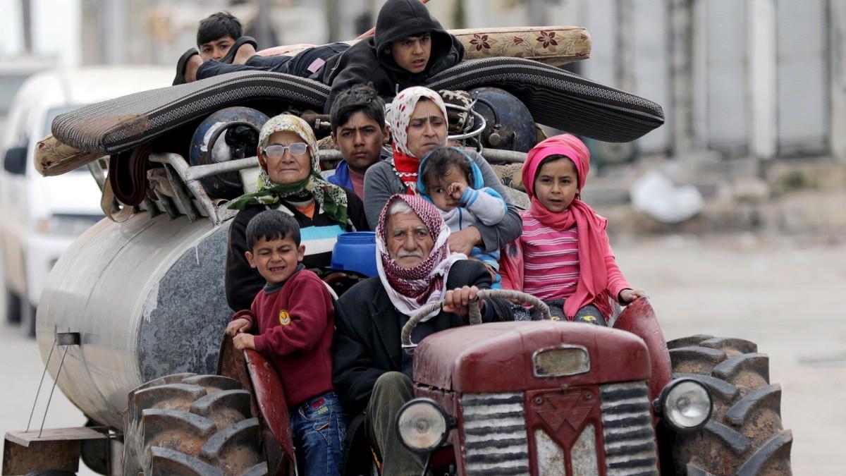 Etter sju år med borgarkrig i Syria har det aldri før vore drepne så mange barn