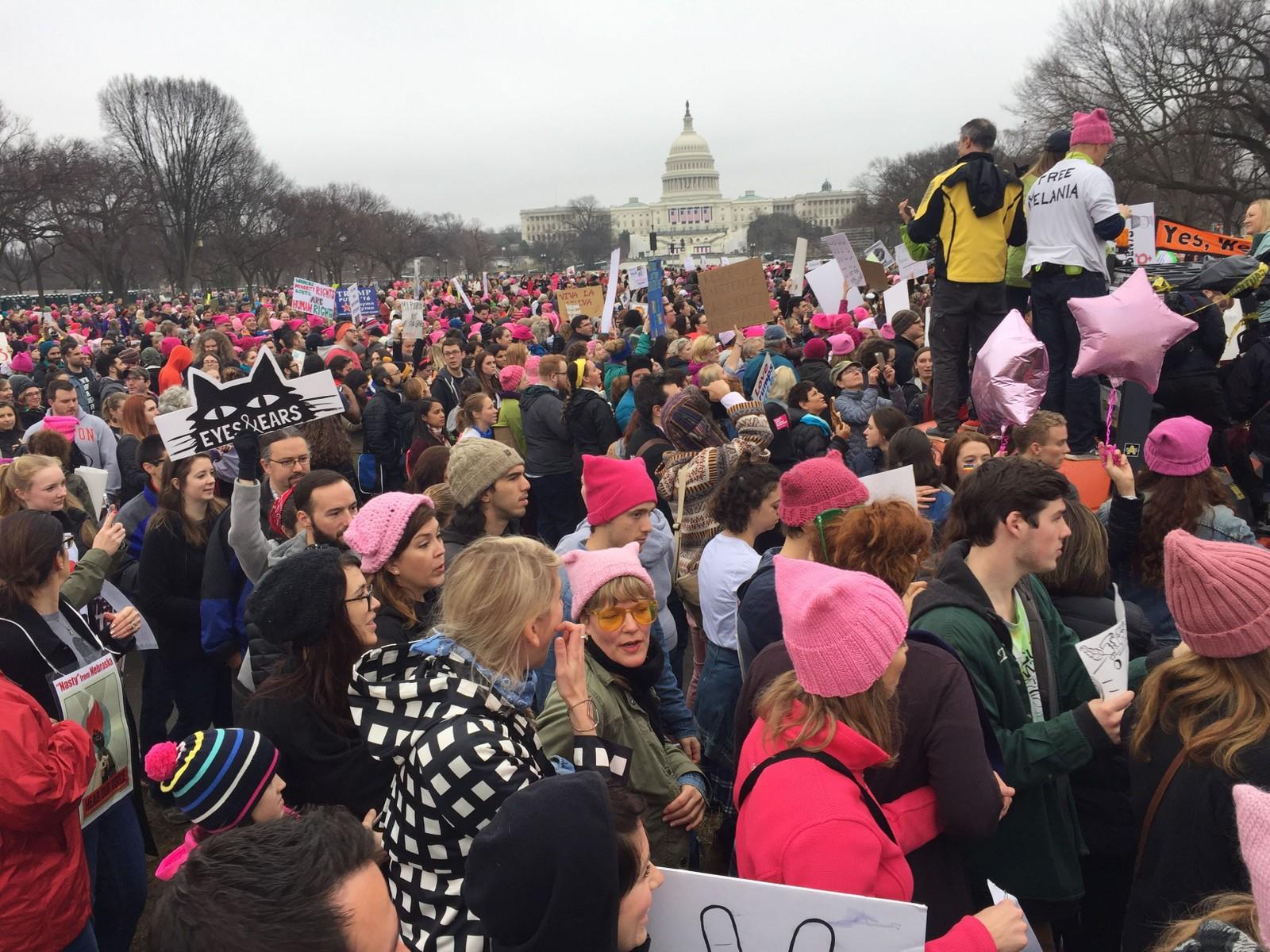 Demonstrasjonene var først planlagt i Washington DC, dagen etter Donald Trump ble tatt i ed som USAs 45. president. Demonstrasjonene spredte seg verden over.