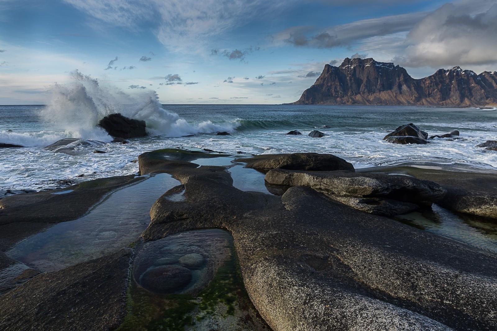 Utakleiv på Vestvågøy