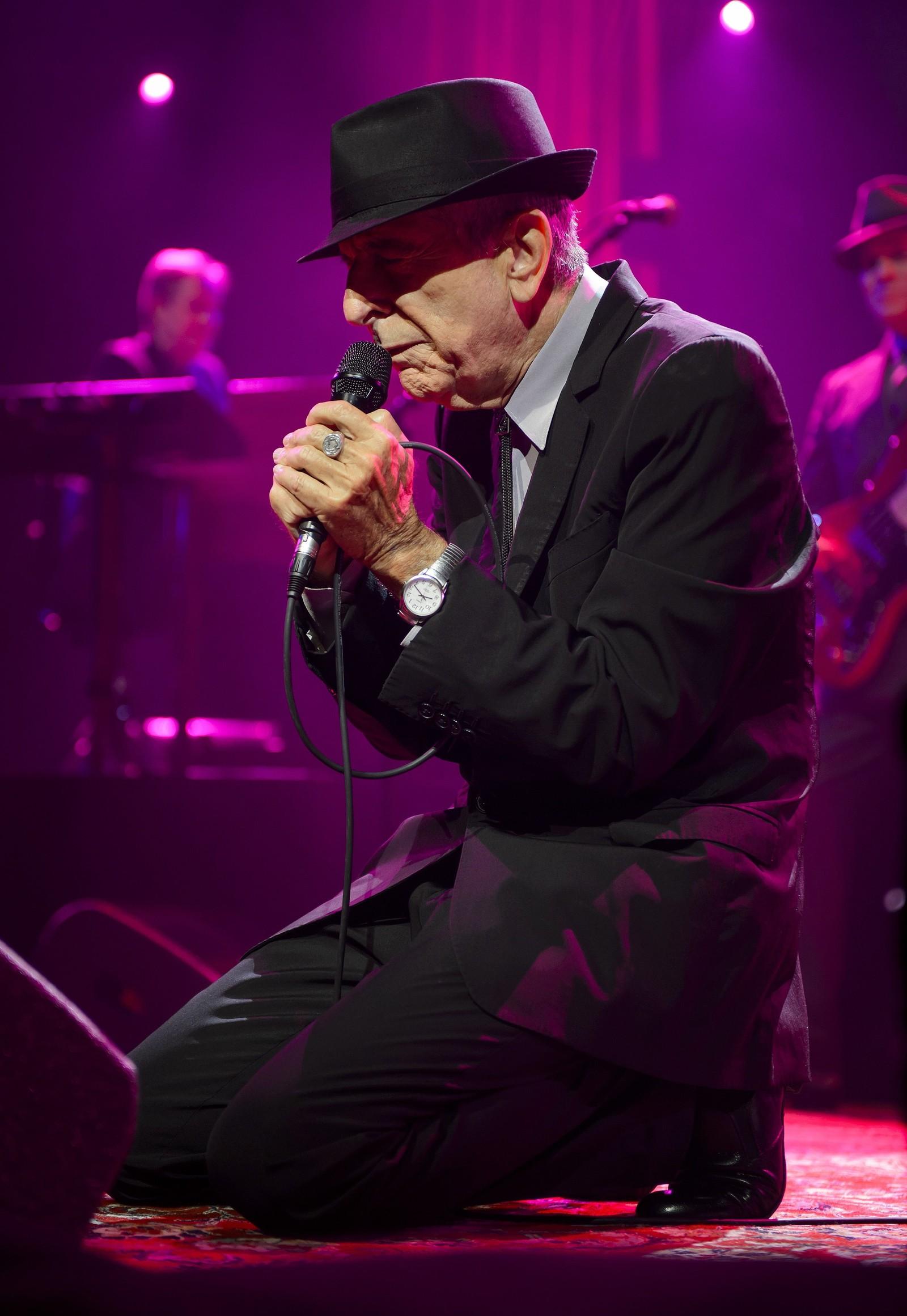 LIVE: Cohen på Montreux Jazz Festival i 2013.