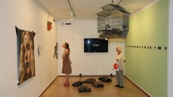 """Fra utstillingen """"Touch me I'm sick"""" av Ann Cathrin November Høibo"""