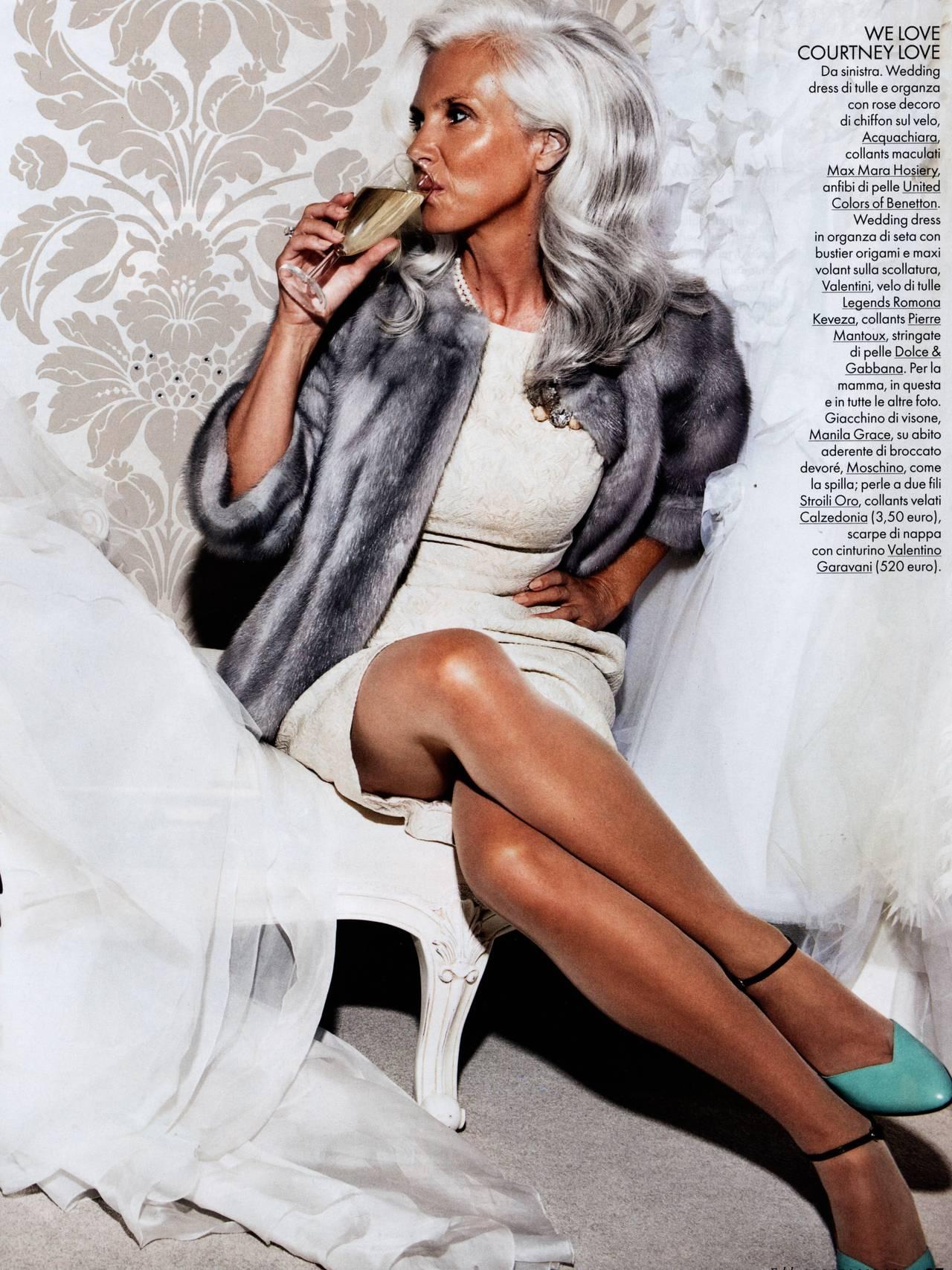 Velaug modell for italienske Elle