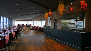 Restauranten på toppen av Clarion Hotel & Congress Trondheim