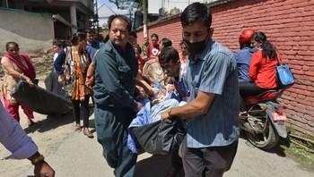 Nytt jordskjelv i Nepal