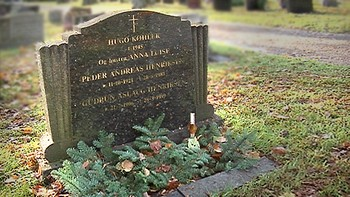 Hugo Køhlers grav