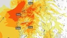 TREFF HARDT I KVELD: På sitt verste vil Stadt få vind med orkan styrke onsdag kveld og natt til torsdag.
