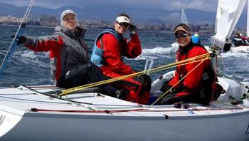 Ynglingen med Siren Sundby, Alexandra Koefoed og Lise Birgitte Fredriksen.