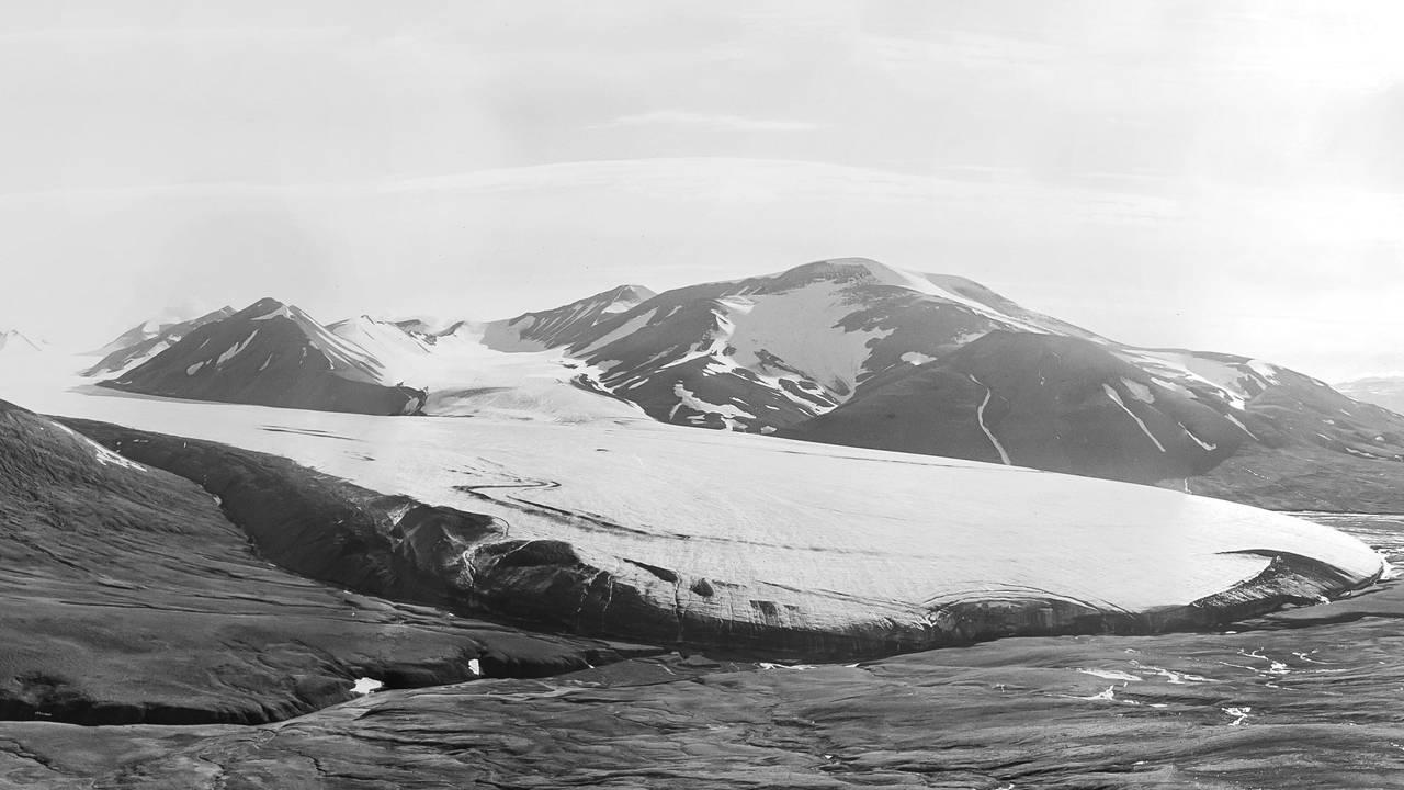 Drønbreen i 1925