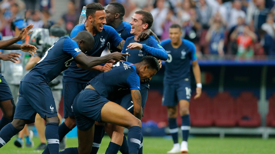 Fotball - VM: Høydepunkter finale Frankrike - Kroatia