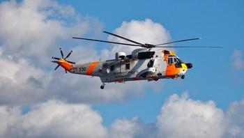 Redningshelikopter frå 330-skvadronen