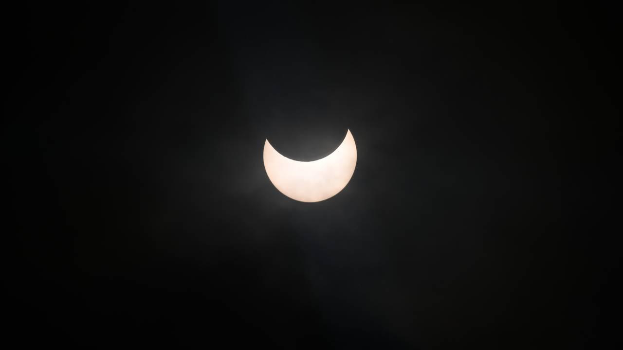 Skibotn delvis solformørkelse