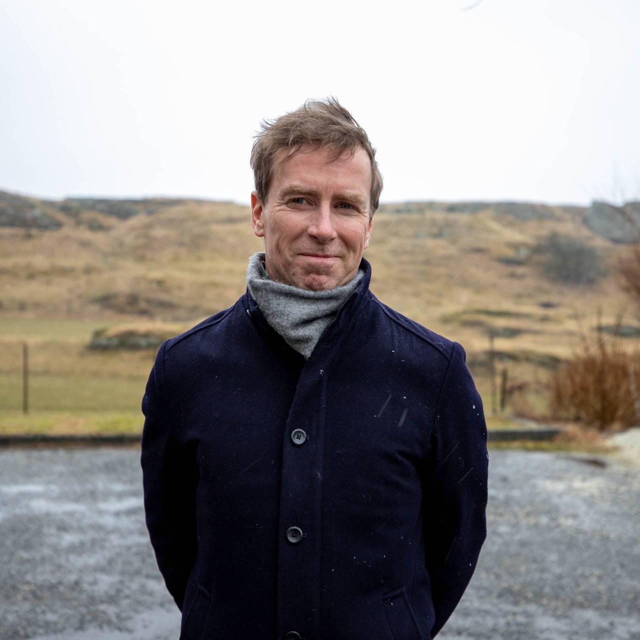 Ordfører i Kvitsøy kommune Stian Gill Bjørsvik.