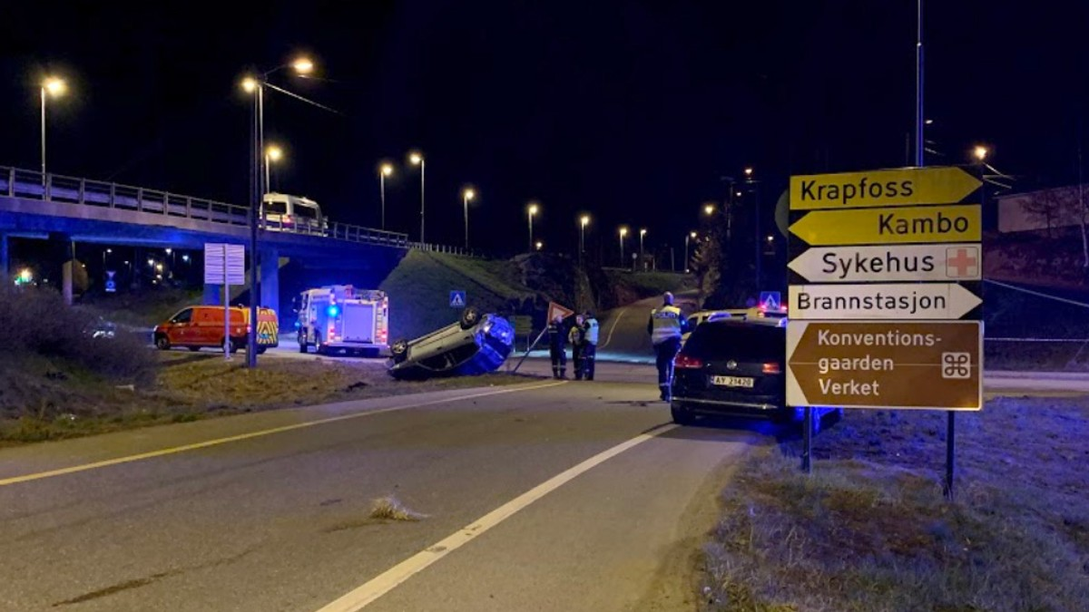 A man died in a car accident in Moss – NRK Østfold – local