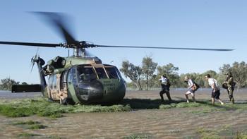 Evakuering av flaumråka i Australia