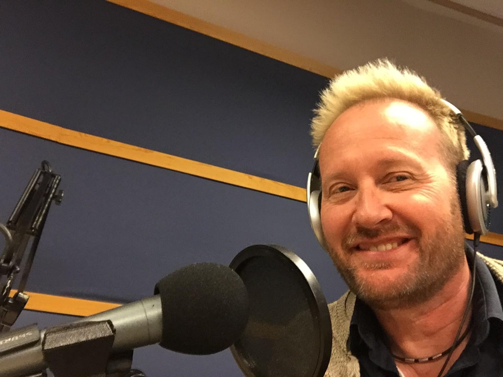 Sigvart Dagsland, fra studio i Bergen.