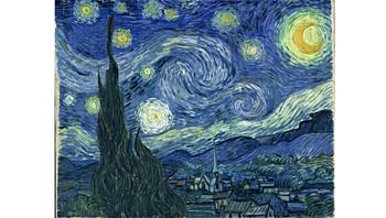 Stjernenatt av van Gogh