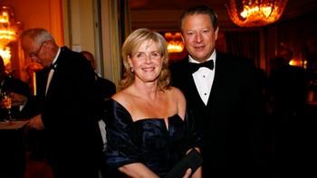 Al Gore og kona Tipper