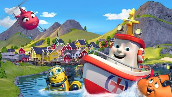 Norsk animasjonsserie. Redningsskøyta Elias er tilbake, kvikkere og livligere enn noen gang. Han bor i Lunvik, og sammen med sine gode venner Helinor og Duppe redder de båter i alle mulige situasjoner.