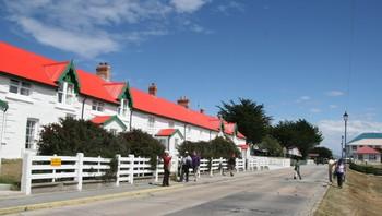 Boligstrøk i Stanley, Falklandsøyene
