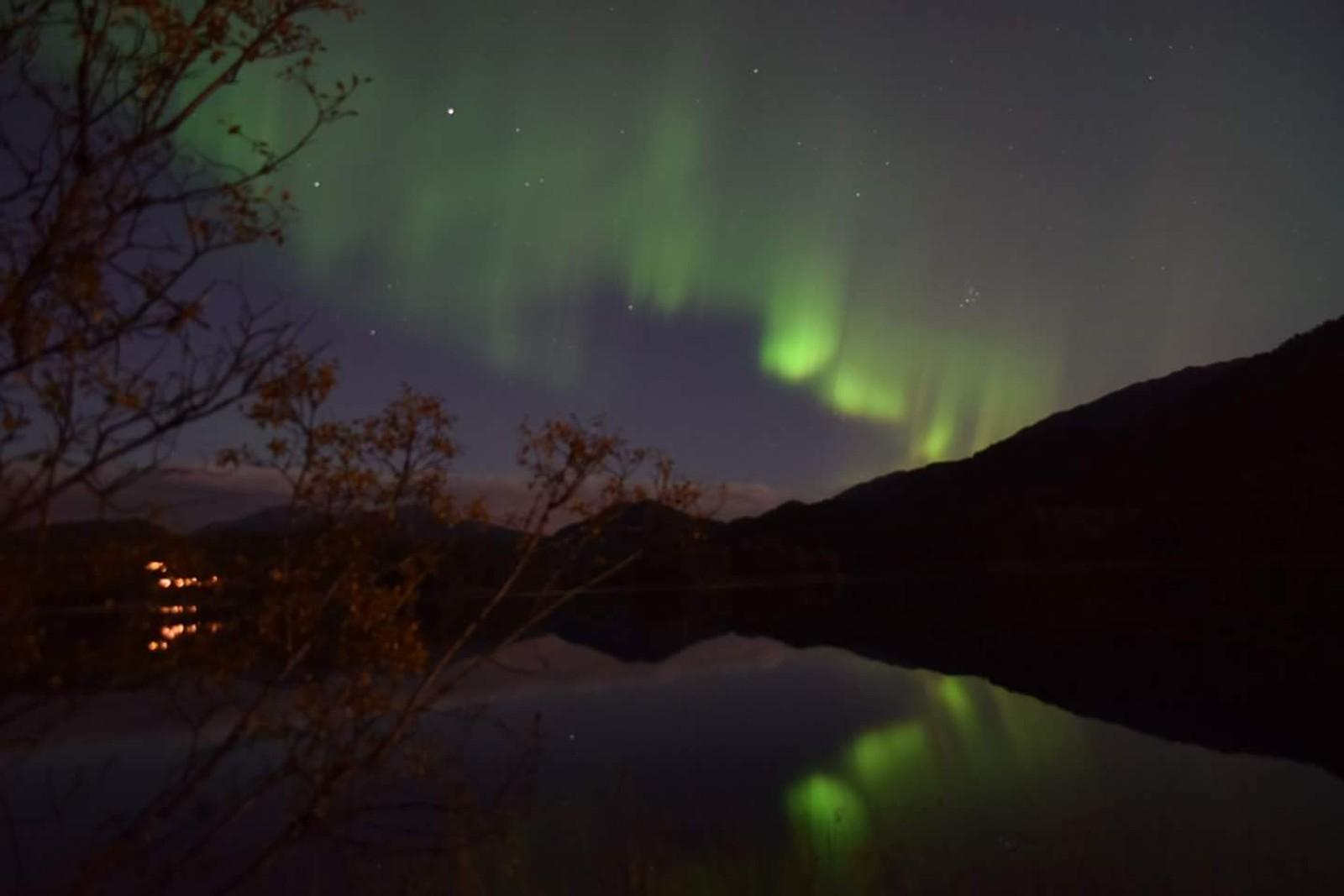 Siri Kristiansen har teke dette blinksotet på Søfteland.