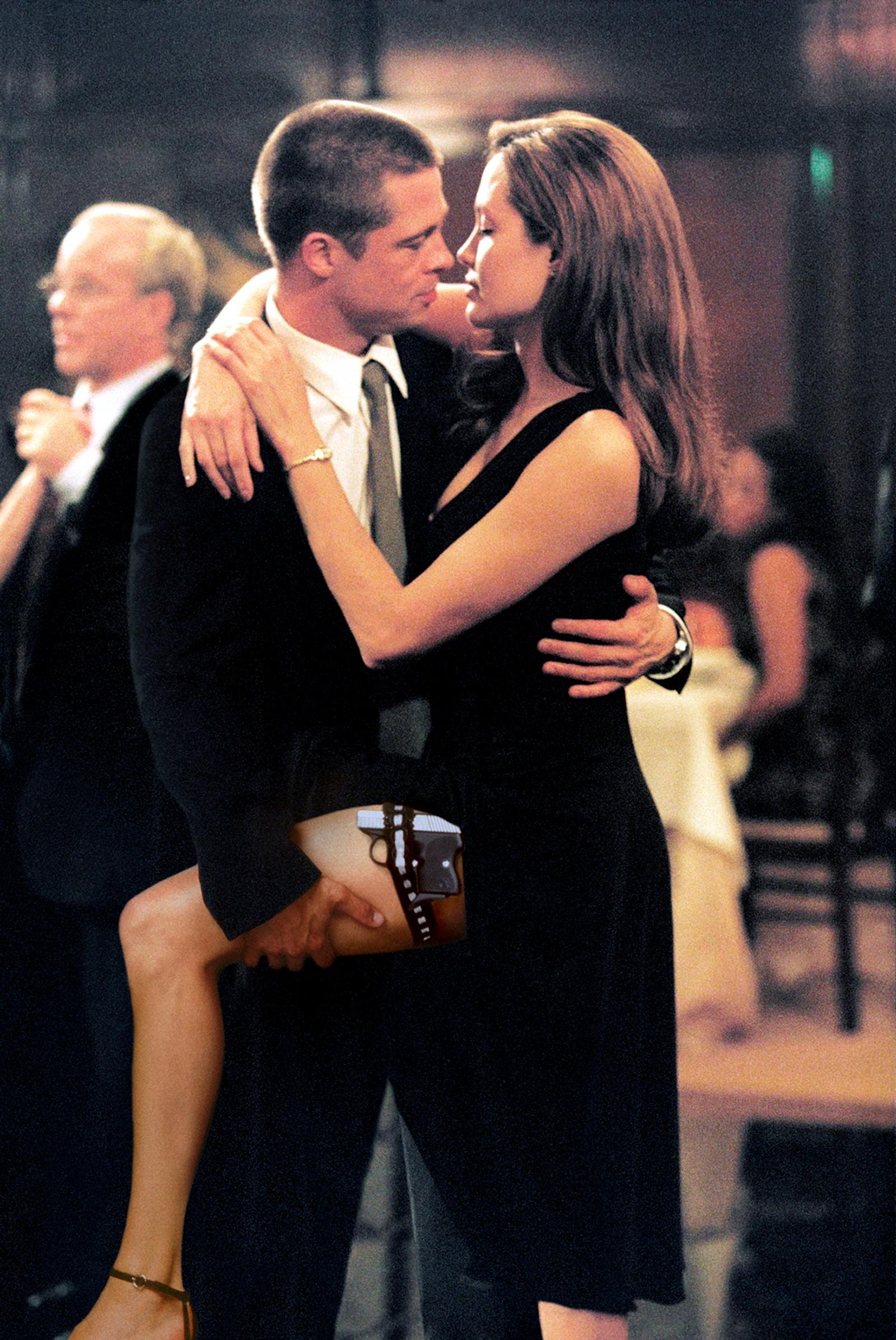 Det var her Brad Pitt og Angelina Jolie ble kjent med hverandre: på settet til filmen Mr. and Mrs. Smith, som ble spilt inn i 2004 og kom ut i 2005.
