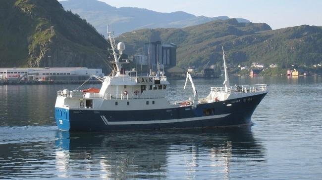 Banklinebåten Sjøvær høyrer heime i Askvoll.