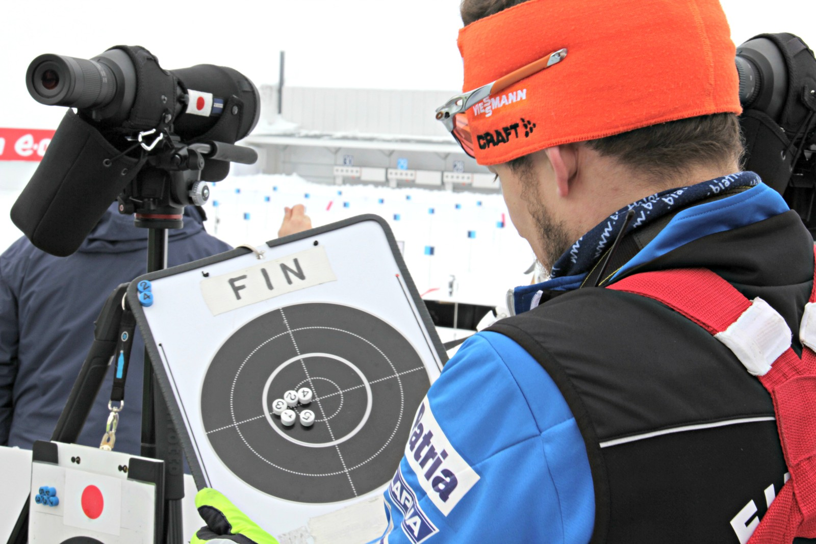 IBU Biathlon World Championships Oslo 2016: Sprint events Saturday 5 March:  Shooting rance