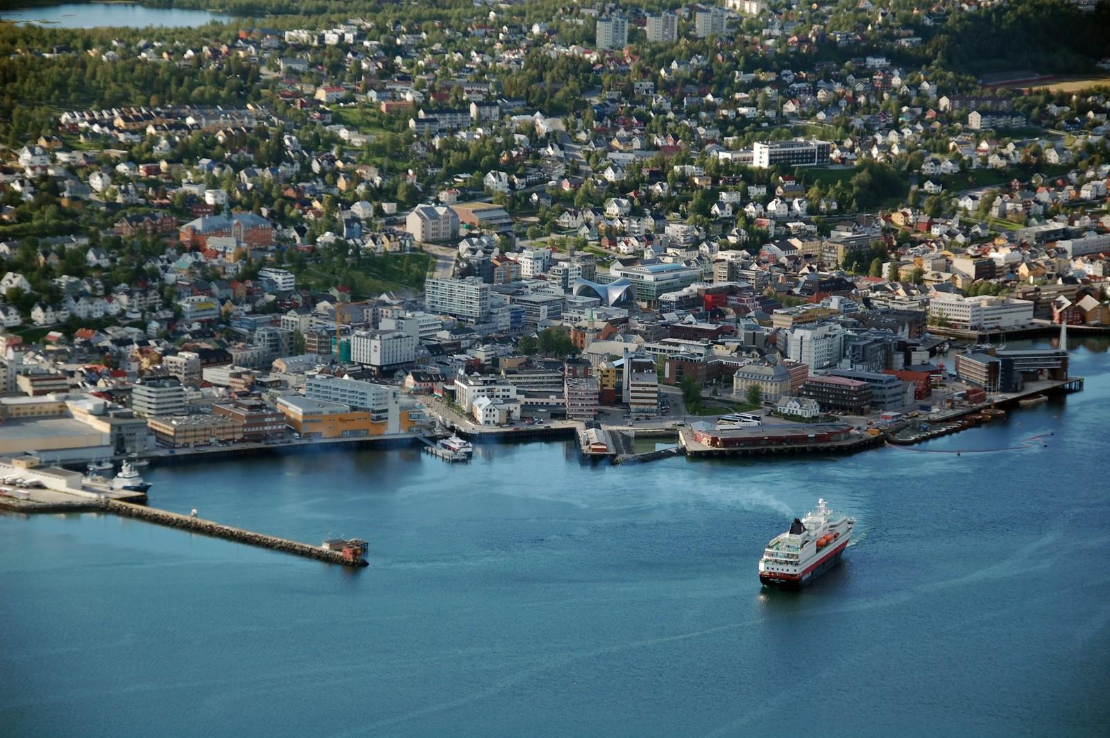 Tromsø er på 8. plass på listen over populære reisemål for utenlandske turister.