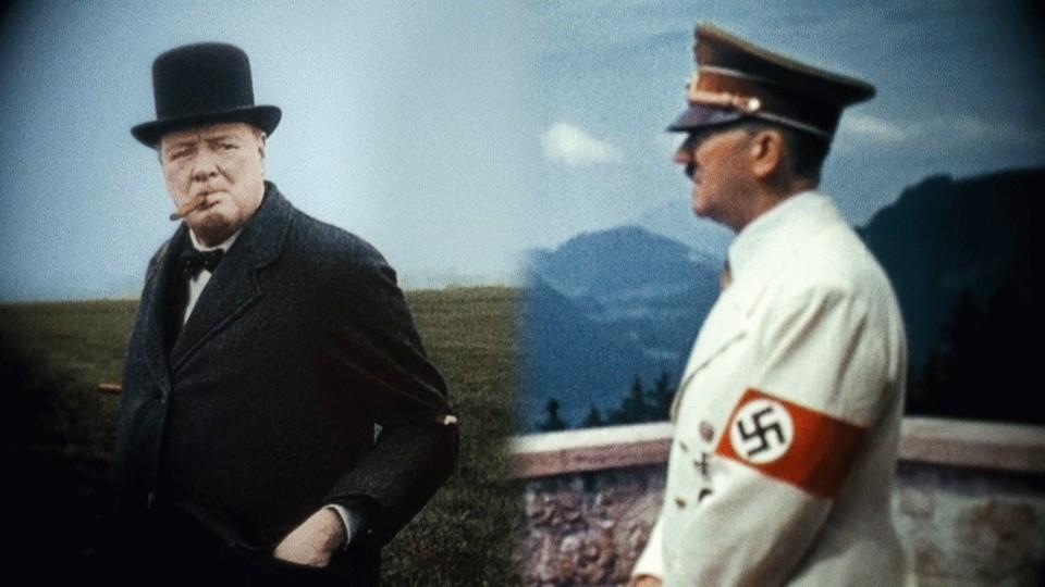 Adolf Hitler versus Winston Churchill
