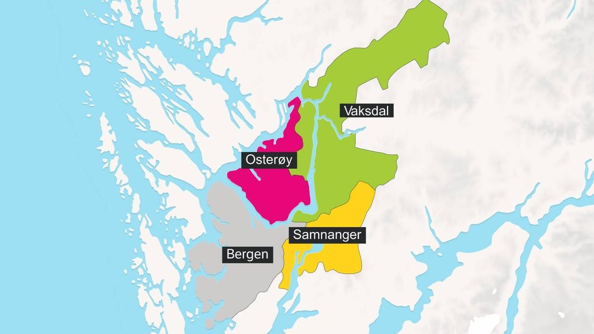 Kommunesammenslåing Bergen