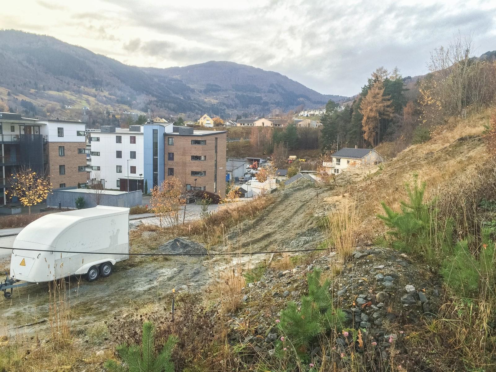 NYE LEILEGHEITER: 54 nye leilegheiter er planlagde på Ulvahaugen. Kostnad 170 millionar, første byggjetrinn startar truleg på nyåret.