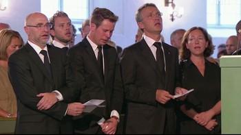 Dag Terje Andersen, Eskil Pedersen, Jens Stoltenberg og Ingrid Schulerud