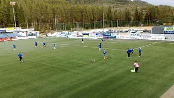 Cupkamp i Nybergsund