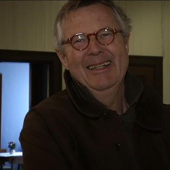 Per Spook stiller ut bilder han har tatt i Sigdal gjennom 50 år